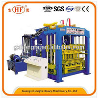 Large construction products! Hongfa QT9-15 automatic cement block making machine