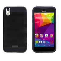 Slim Armor Aluminium Shockproof PC+TPU Combo Cover Mobile Phone Case For Blu Advance 4.0L