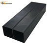tianjin hollow section square black steel pipe for construction material