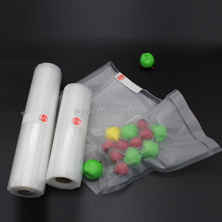 Volume Manufacture Factory Price 25cm*5m Vacuum Sealer Rolls Food Package Bag On A Roll