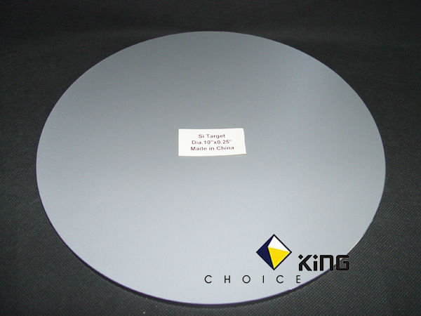 Silicon product P-type mono crystal Si 5N 99.999% and 6N 99.9999%