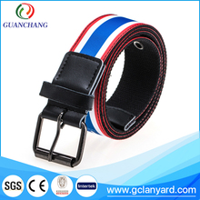 Garment decoretion braided belts custom elastic waistband from China supplier