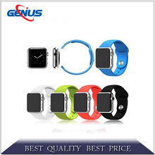 2016 new products siliocne for apple watch strap, adjustable silicone watch strap