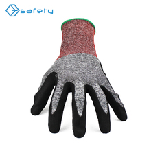 Construction Tools 18G HPPE Liner Work Gloves Anti Cut 3 EN388 4342