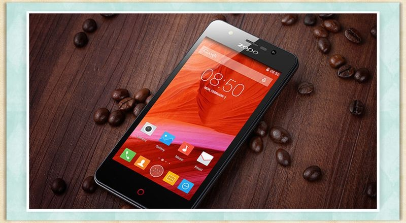 Pre-Sale ZOPO ZP330 4G LTE Mobile Phones 4.5'' 854*480 IPS Screen MTK6735 Quad Core 1GB RAM+8GB ROM Android 5.1