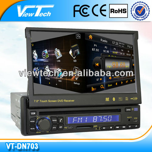 "7"" 1 din car dvd gps"