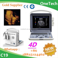 Delicate 4D ultrasound machine / High performance color doppler ultrasound price / Full digital diagnostic ultrasound system C19