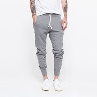 custom cut and sew fleece skinny sweatpants