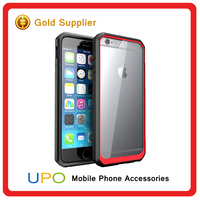 [UPO] Luxury Stylish PC TPU bumper Case for Apple iphone 6, Hybrid Combo Case for iphone 6s