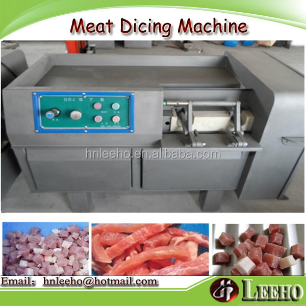 meat processing machine factory price pork beef cube dicing machine