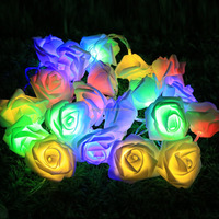 20L Christmas decorative light the roses battery lights short string christmas lights