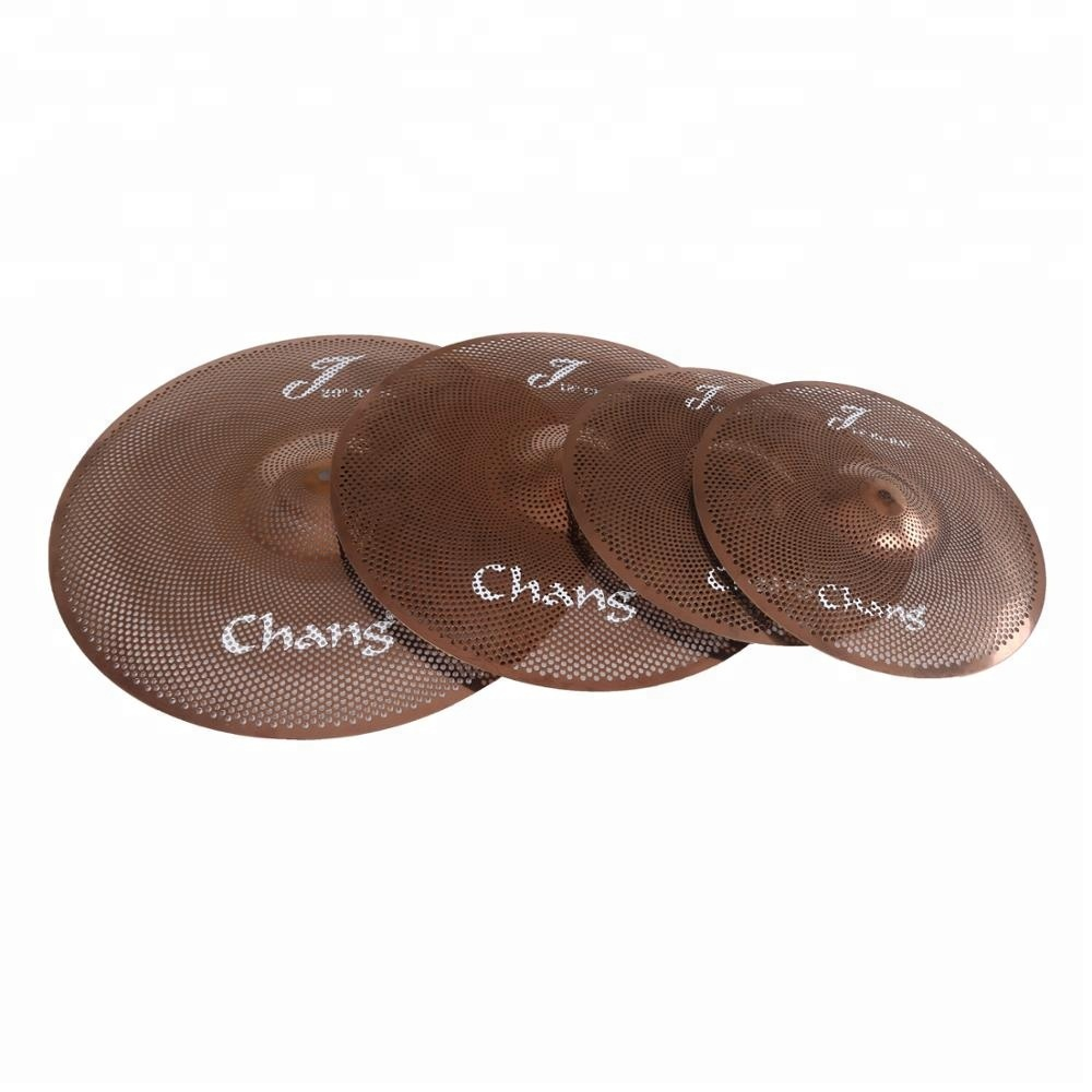 Chang <strong>J</strong> series Low Volume Cymbals Quiet Cymbals