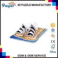 Buy Cubicfun world famous 3d puzzle mini architecture model in ...