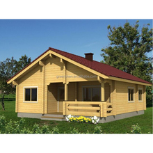 Hot sale Prefab wooden house for living