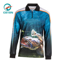 polyester tournament fishing shirts wholesale fishing clothing manufacturers in China