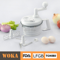 Food Processor Manual Swift Chopper Salad Maker