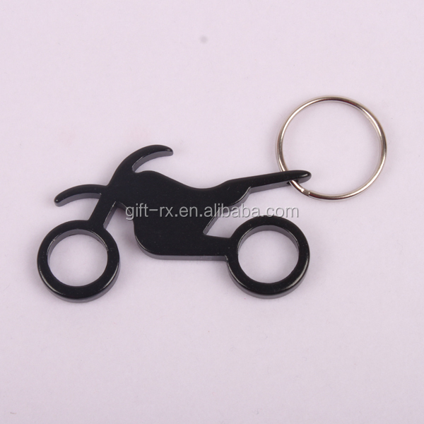 Motorcycle keychain,Aluminum alloy beer bottle opener,Promotion gifts