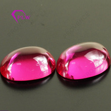 Luxury Jewelry Wax Setting Cabochon Rose Pink #3 Loose Ruby Stone Beads