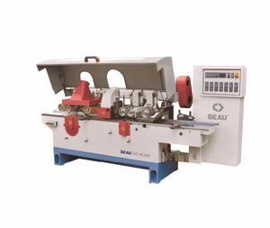 MJ425 2 double sides multiple blade rip saw planer machine