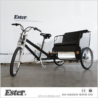 ESTER Pedal Bicycle three wheel Pedicab manufacturer