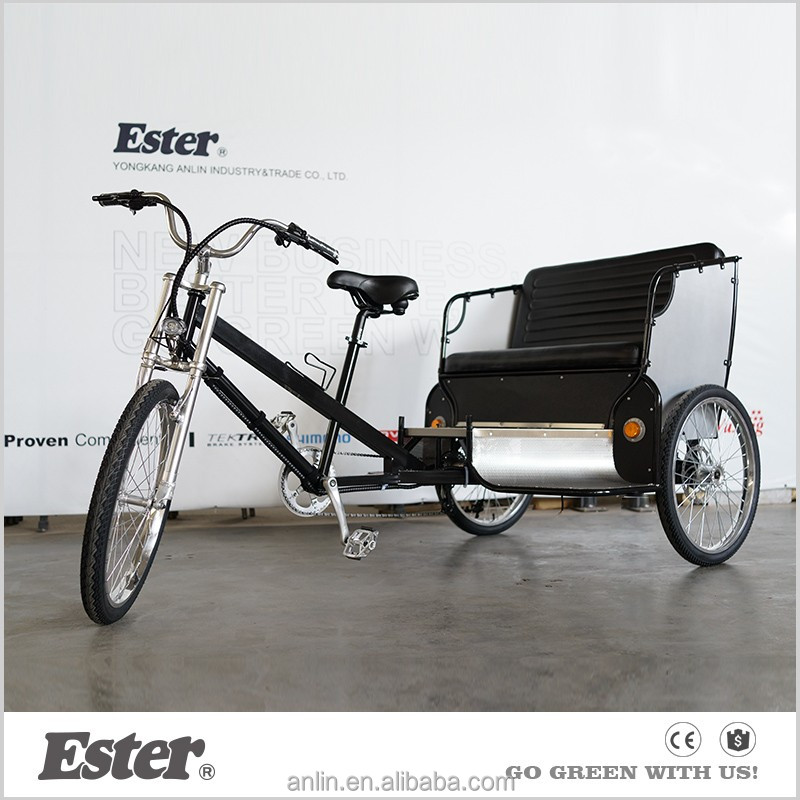 ESTER electric Bicycle three wheel Pedicab manufacturer