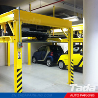 China supplier PJS four post family garage auto car parking lift