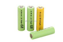 NiMH Battery A,AA,AAA,SC,Sub C,C,D,F 1.2V Manufacturer with CE,ROHS,UL certificates