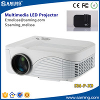 Newest Mini Small X9 High Performance HD LCD Handheld 3D Home Cinema Projector Outdoor Native 800x480 Support 1080P