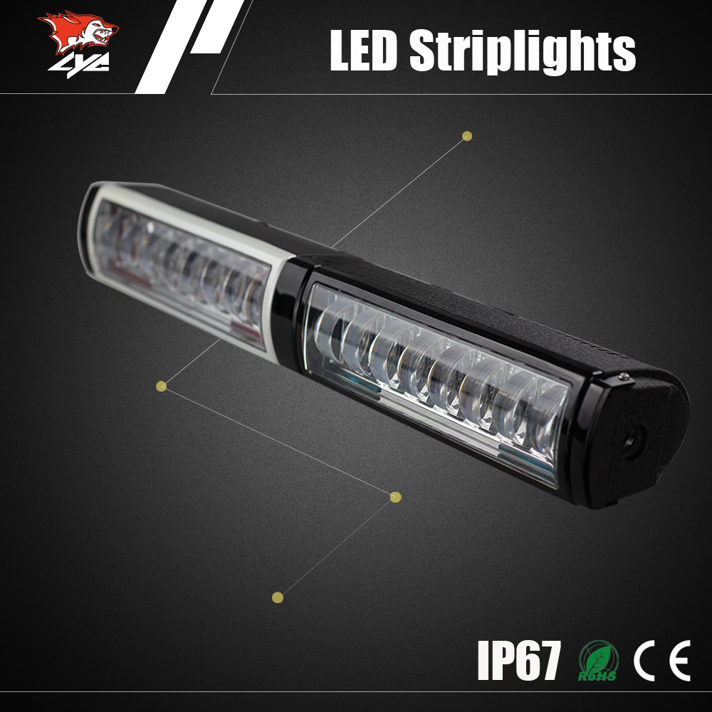 Auto spare parts 12-24v 4800lm New Bar Led Headlight Worklight for ATV