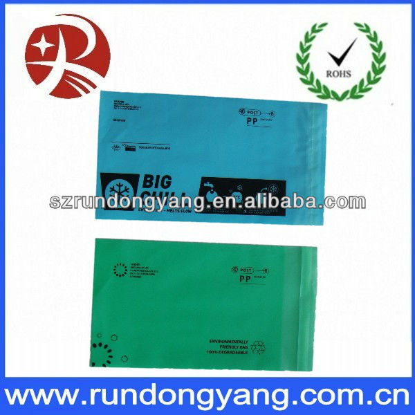 poly mailer bag for clothing