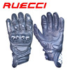 cheap special designed wrist protection first layer leather motorcycle gloves PVC protection knuckle