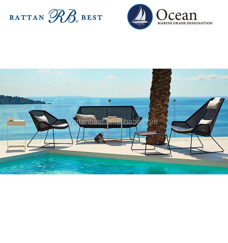 outdoor rattan golf club furniture