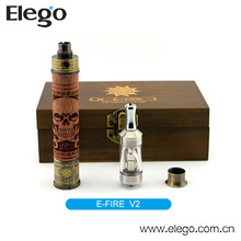 Authentic Vision efire vision E cig mod e-fire wooden kit vision e fire v2