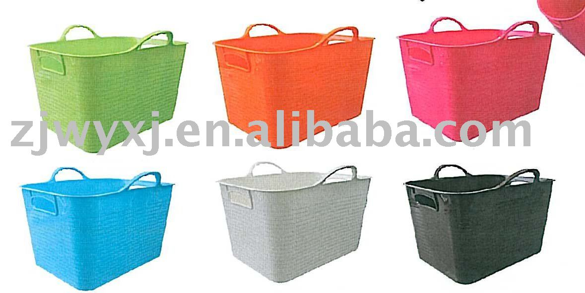 PE storage box,square flexible plastic box,Colorful box with lid