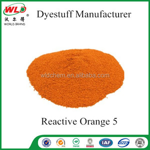 Reactive Orange 5/Reactive Orange PE cotton fabric dye