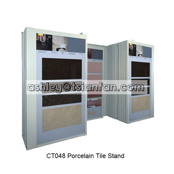 ceramic tiles display cabinets/tile stone display cabinets/porcelain tiles display racks CT048