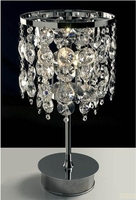 modern chinese led reading light crystal chandelier table lamp