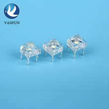 china market of electronic led lighting super flux round top 5mm piranha led light emitting diode