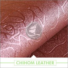 Various patterns Breathable Versatile pu pvc synthetic leather for shoes