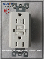 Barep GFCI with Tamper Tesistant outlet UL approved NEMA5-15R 5-20R TR Receptacle