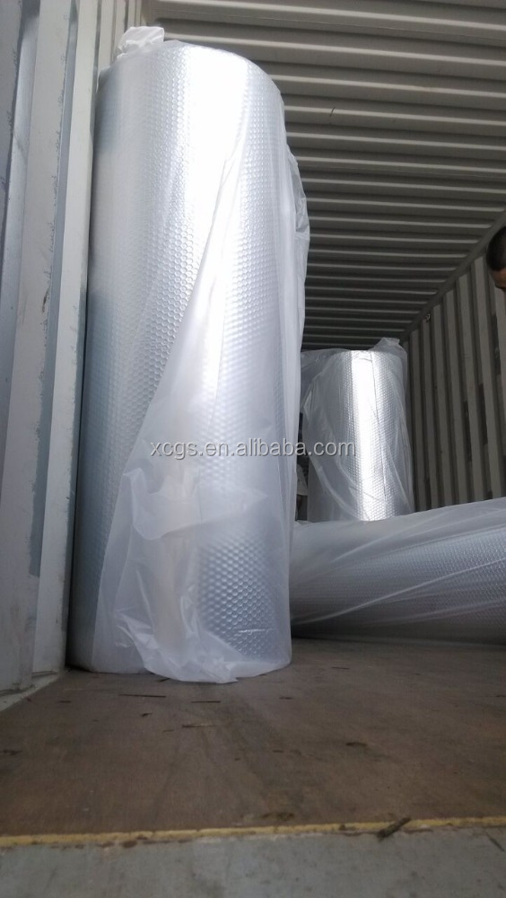 Roof heat reflective material 3mm Insulated Double Metalized Mylar Bubble inside