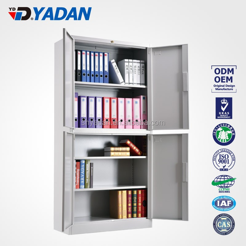 Modern Steel Office Used Furniture Storage File Cabinet With Four Doors