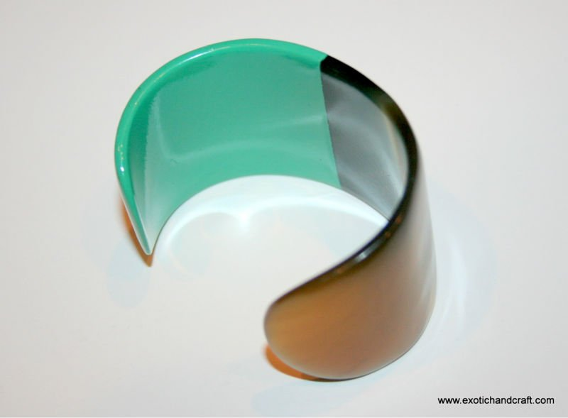 Horn Lacquer Jewelry Bracelet/Cuff/Bangle