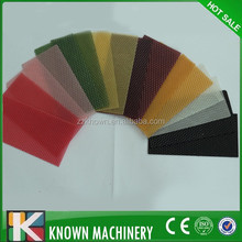 colorful beeswax foundation sheet from China / colorful plastic comb foundation