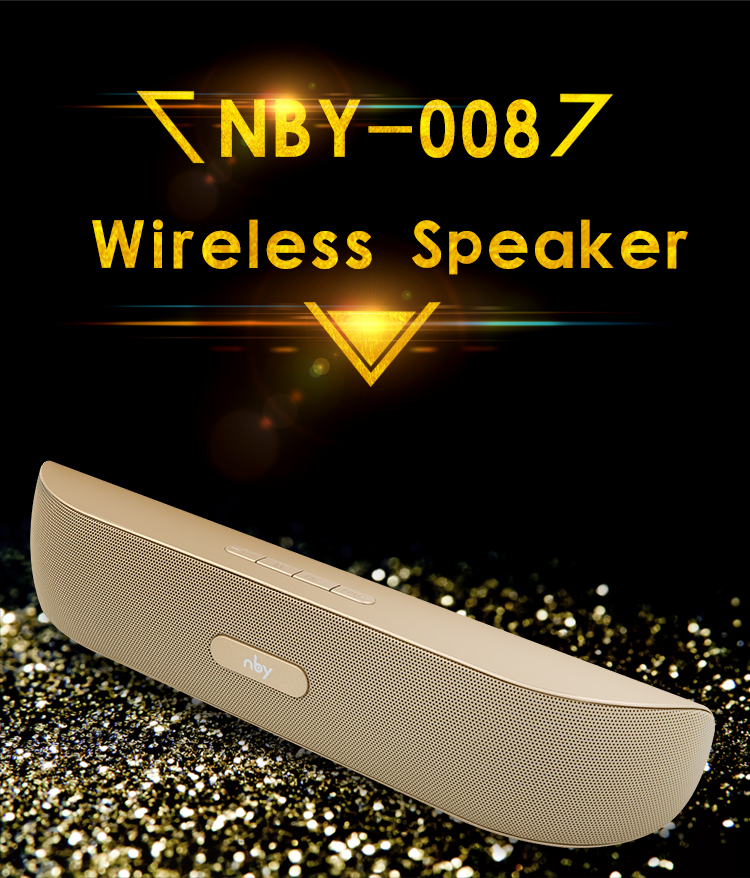 NBY-008 Best Wholesale Hifi Stereo Outdoor Radio Bluetooth Wireless Speaker Wireless With Handsfree