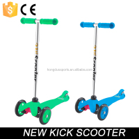 Wholesale Mini Micro scooter 3 wheels mini kick scooter for kids