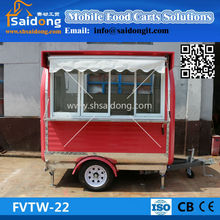 New Arrival!!! Best Designed towing type mobile fast food cart/food fryer cart price