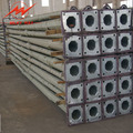 steel pylon tapered electrical power pole