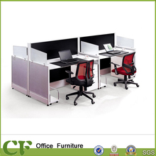 CF cubicle tale 4 person wood office partition