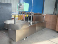 Banana shape ice jelly filling packing machine /ice popsicle filling sealing machine